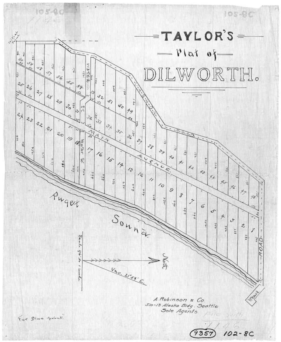 dillworth plat